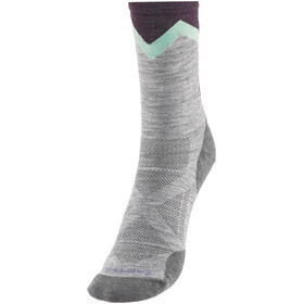 Smartwool PhD Pro Approach Light Elite Crew Socks Women Light Gray